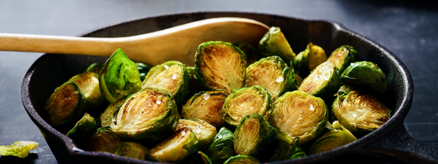 Infused Buffalo Brussels Sprouts