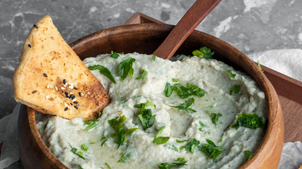 Cannabis-Infused Whipped Ricotta Dip with Toasted Baguette Hero Asset